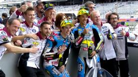 The EG 0,0 Marc VDS riders took pole position ahead of Mattia Pasini and Alex Marquez at the Circuit of the Americas