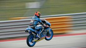The Spanish rider took pole position ahead of Joan Mir and Romano Fenati