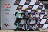 Aron Canet, Joan Mir, Romano Fenati, Red Bull Grand Prix of The Americas