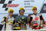 Franco Morbidelli, Thomas Luthi, Takaaki Nakagami, Red Bull Grand Prix of The Americas