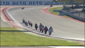The entire Warm Up session for the Moto3? World Championship at the #AmericasGP.