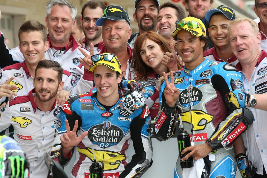 Franco Morbidelli, Alex Marquez, EG 0,0 Marc VDS, Red Bull Grand Prix of The Americas