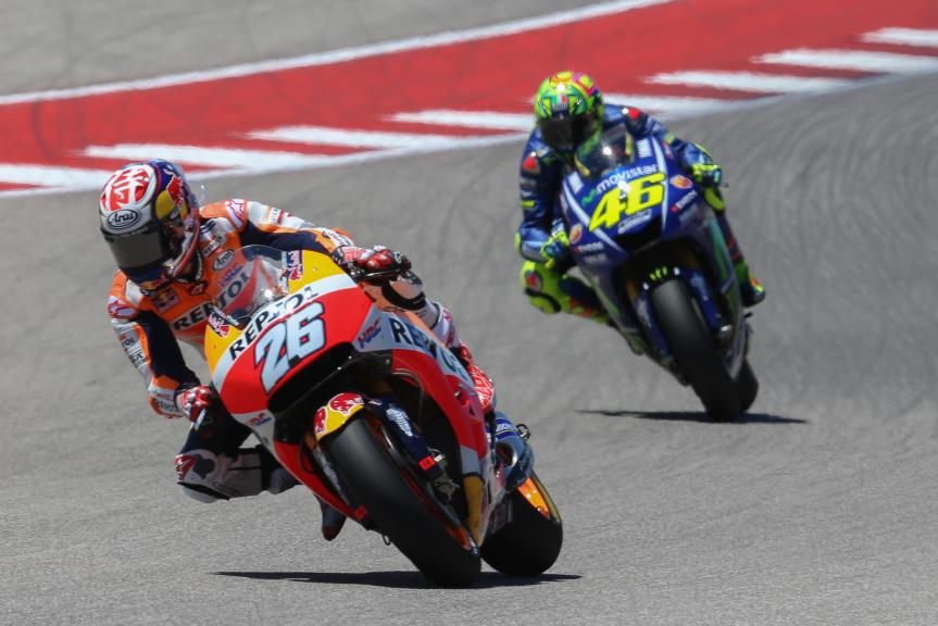 Dani Pedrosa, Valentino Rossi, Red Bull Grand Prix of The Americas