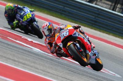 "Pedrosa: ""Leading the race was amazing"""