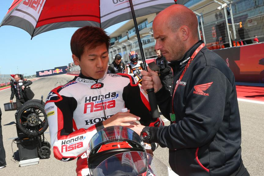 Kaito Toba, Honda Team Asia, Red Bull Grand Prix of The Americas