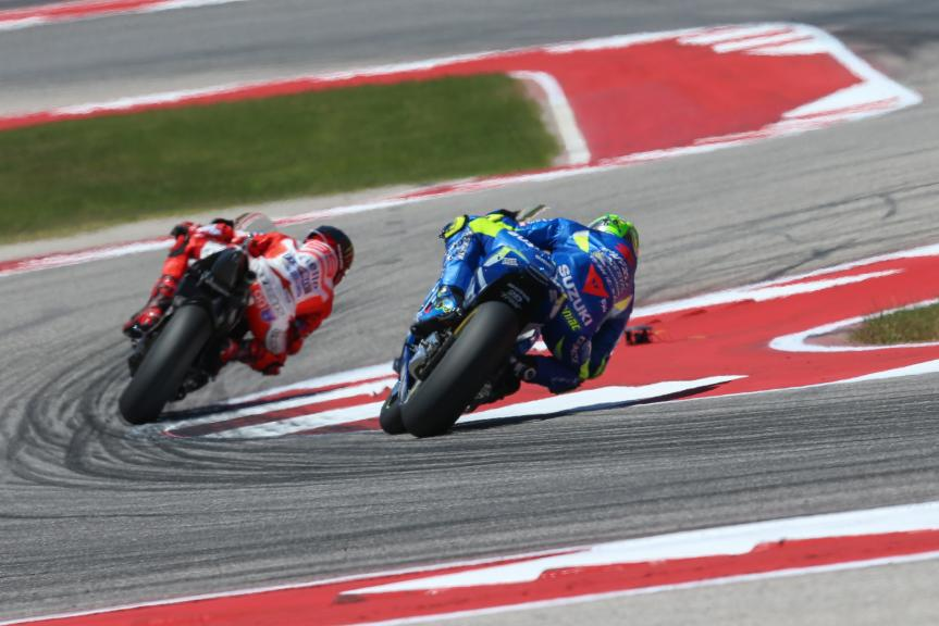 Andrea Iannone, Team Suzuki Ecstar, Red Bull Grand Prix of The Americas