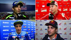 The  MotoGP™ riders give us feedback at the #AmericasGP.