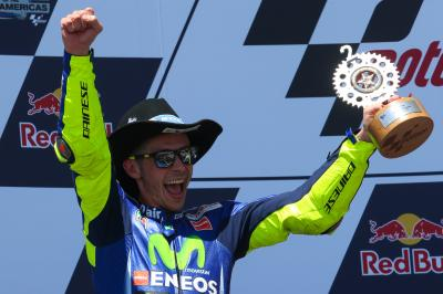 "Rossi: ""I had two choices – go straight or crash!"""