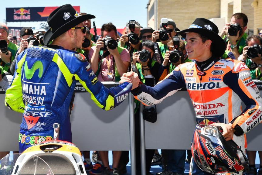 Valentino Rossi, Marc Marquez, Red Bull Grand Prix of The Americas