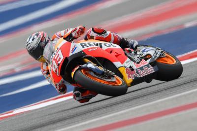 Márquez et Viñales en tête du warm-up MotoGP™ au COTA