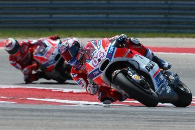 Difficult weekend for Dovizioso in Texas