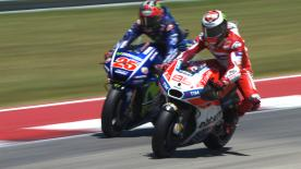 An explanation of some of the most remarkable overtakes that took place at the #AmericasGP.