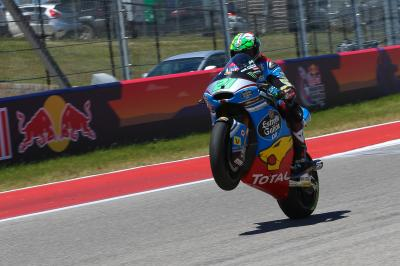 "Morbidelli: ""I decided to push all the way to the finish"""