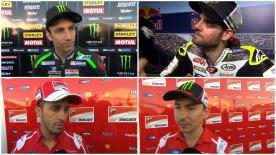 MotoGP™ riders give us feedback on their race results at the #AmericasGP.