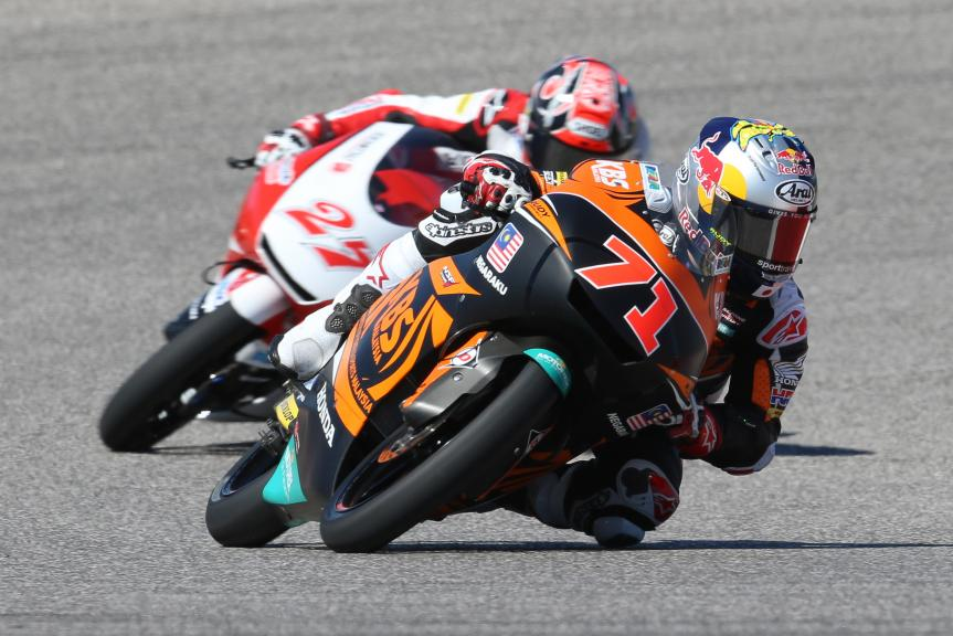 Ayumu Sasaki, SIC Racing Team, Red Bull Grand Prix of The Americas