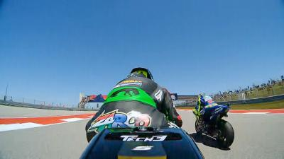 Zarco vs. Rossi: Their version of events