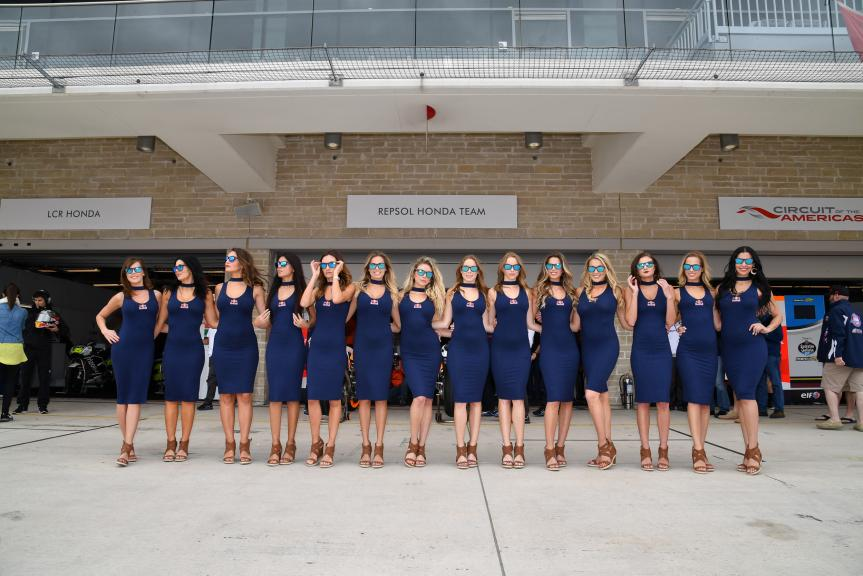 Paddock Girls, Red Bull Grand Prix of The Americas