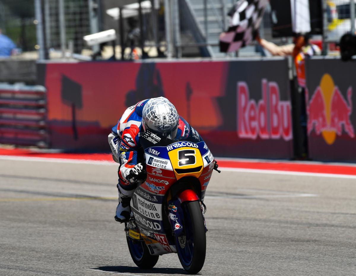 "Fenati: ""I consider everyone on the grid a threat"" | MotoGP™"