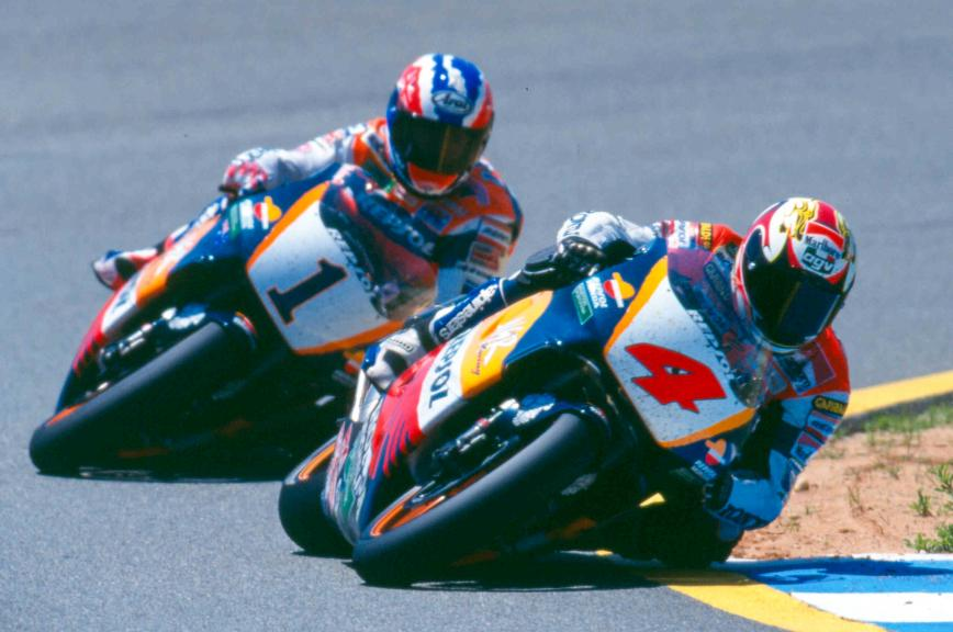 Doohan and Criville, Jerez, 1996