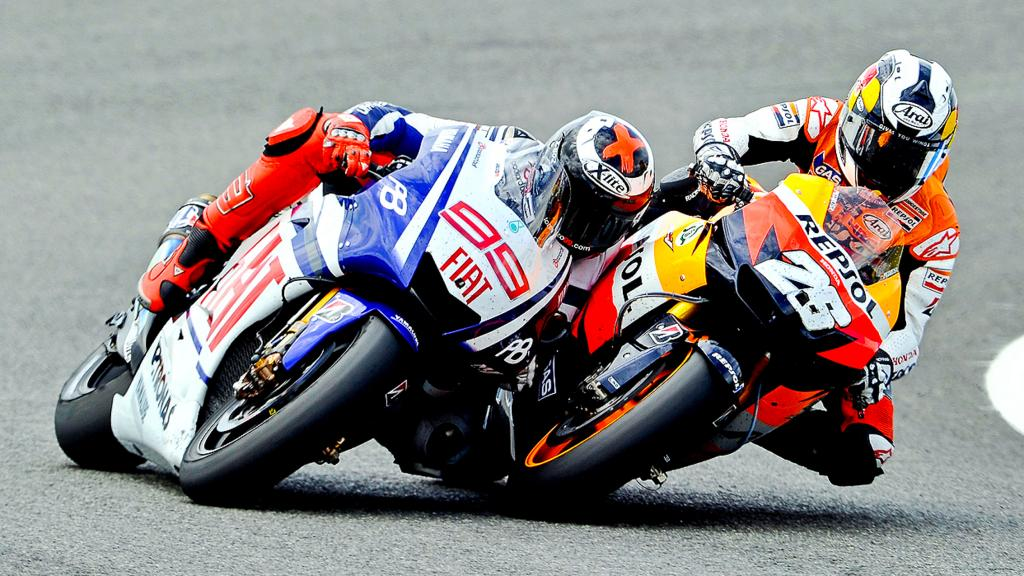 Lorenzo and Pedrosa, Jerez, 2010