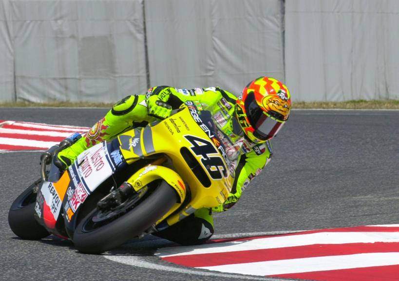 Valentino Rossi, Suzuka, 2001