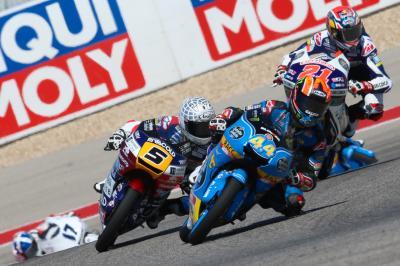 La lutte continue en Moto3™ à Jerez