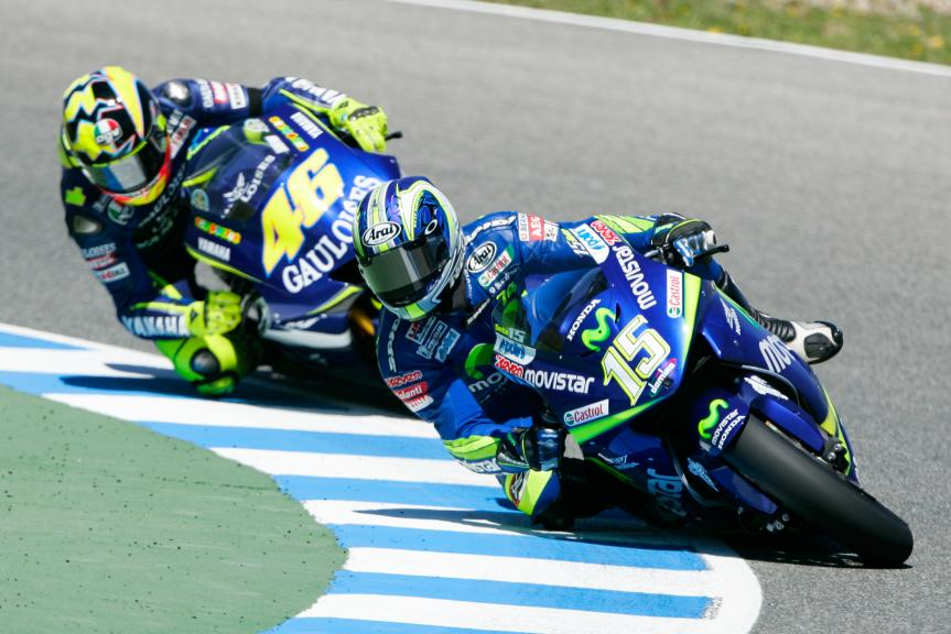 Gibernau and Rossi, Jerez, 2005