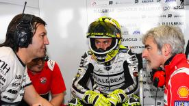 Pull&Bear Aspar Team rider talks to motogp.com about his change from Aprilia to Ducati in his eighth year in MotoGP™