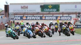 アルバセテ・サーキットで開催されたMoto2™クラス決勝レースのハイライトビデオ。