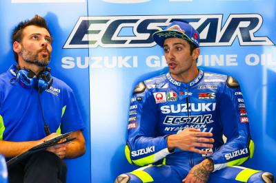 "Iannone: ""Testing in Jerez left me with a positive feeling"""