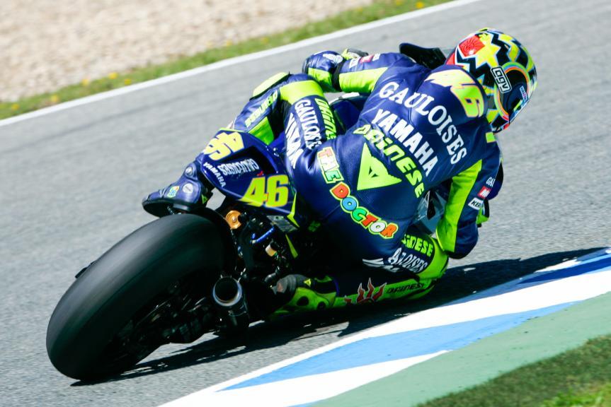 Rossi, Jerez, 2005