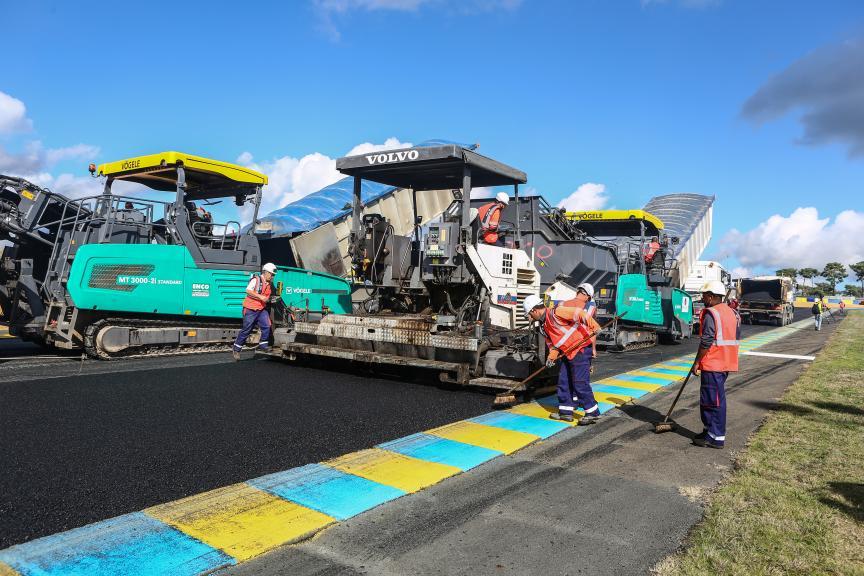 Re-Asfaltado Le Mans