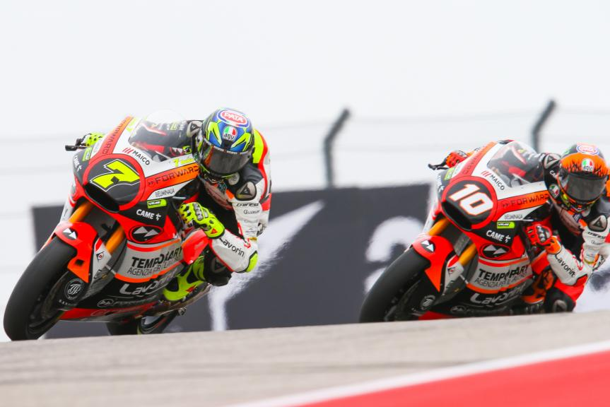 Lorenzo Baldassari, Luca Marini, Forward Racing Team, Red Bull Grand Prix of The Americas