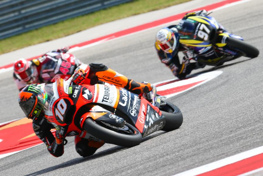 Luca Marini, Forward Racing Team, Red Bull Grand Prix of The Americas