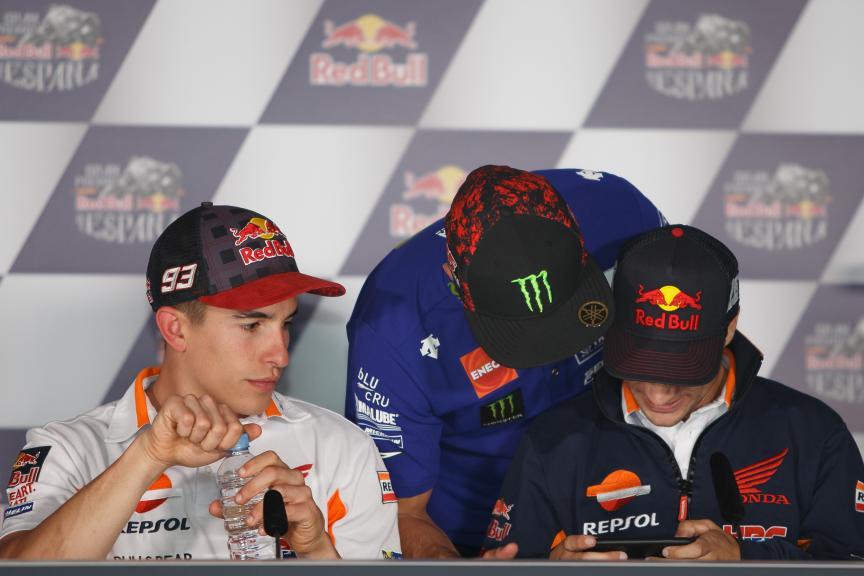 Marc Marquez, Maverick Vinales, Dani Pedrosa, Gran Premio Red Bull de España