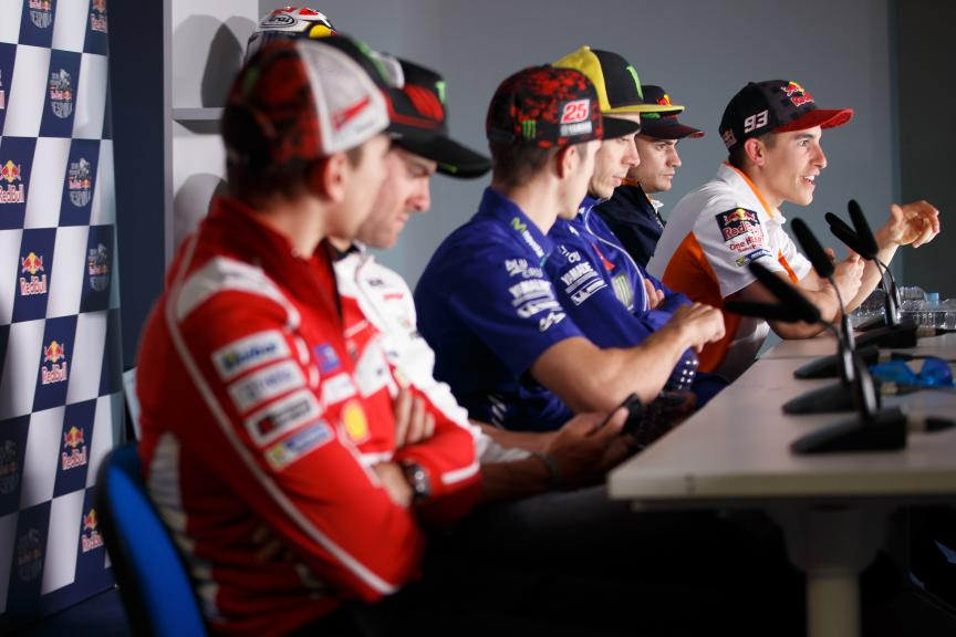 MotoGP Press-Conference, Gran Premio Red Bull de España
