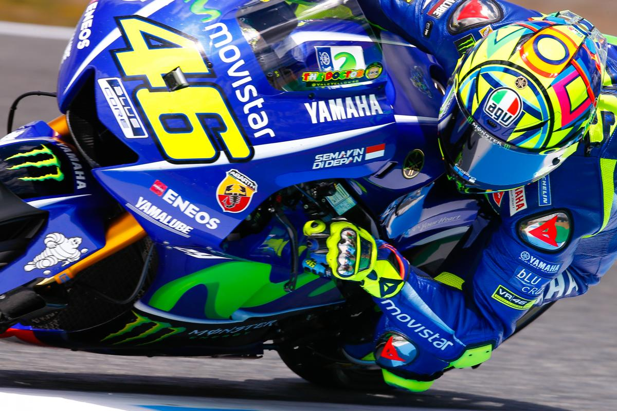 "Rossi: ""We are not fast enough"" 