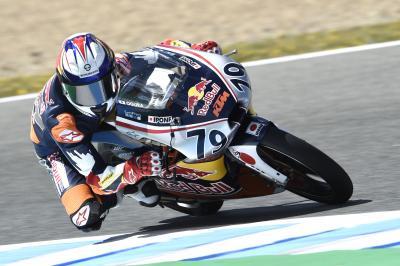 Ogura steals Jerez pole from Salač