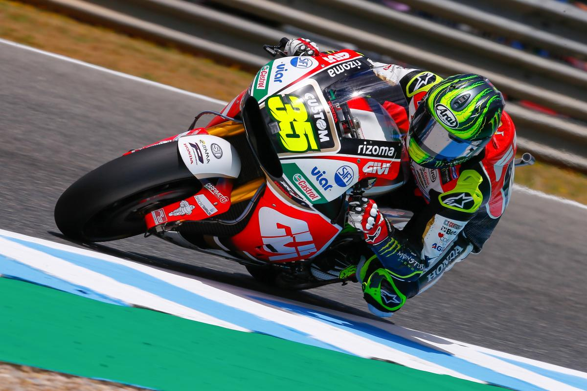 """Crutchlow: """"Front row in the dry in Jerez is good"""" 