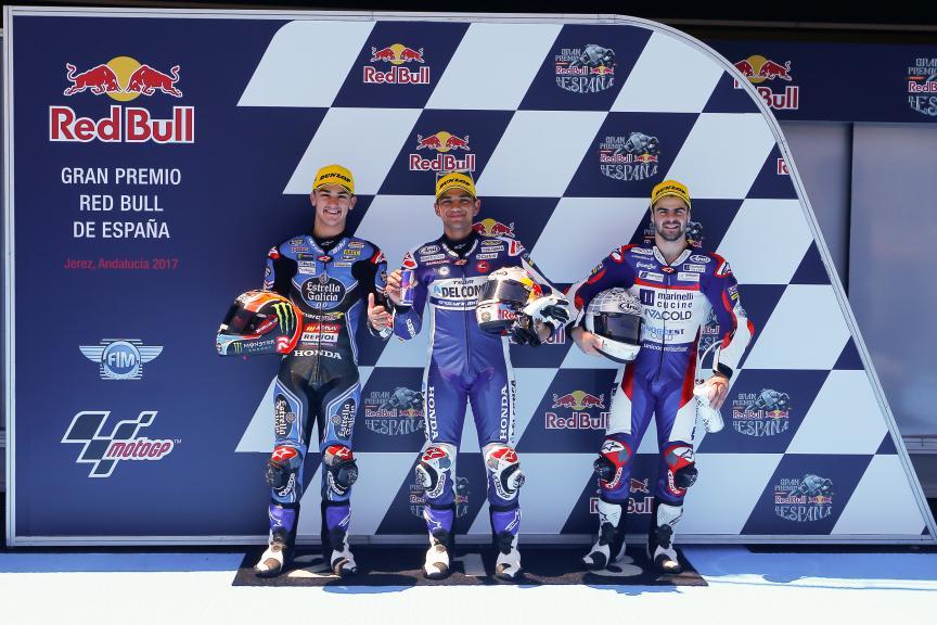 Jorge Martin, Aron Canet, Romano Fenati, Gran Premio Red Bull de España