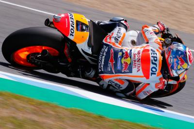 """Pedrosa: """"I took Marquez' challenge and went for it"""""""