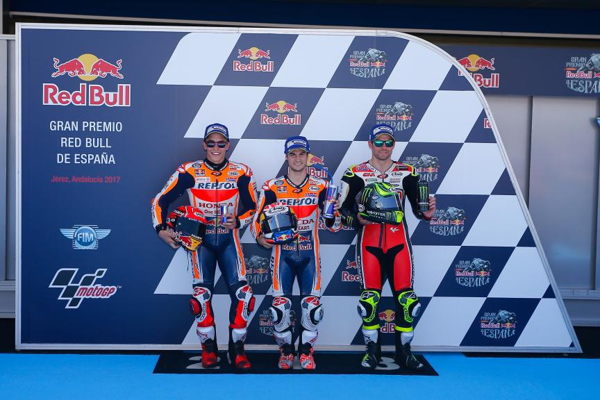 Dani Pedrosa, Marc Marquez, Cal Crutchlow, Gran Premio Red Bull de España