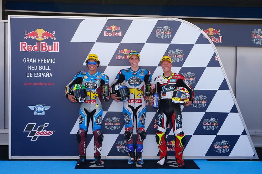 Alex Marquez, Franco Morbidelli, Dominique Aegerter, Gran Premio Red Bull de España