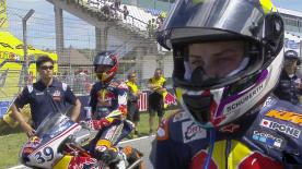 The full first race from the Circuito de Jerez for the Red Bull MotoGP™ Rookies Cup