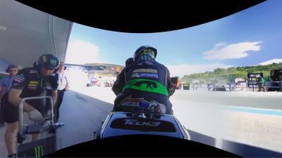 Vidéo gratuite : Zarco à Jerez en 360 OnBoard