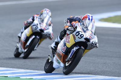 Skinner takes win from Ogura in shortened Jerez 1
