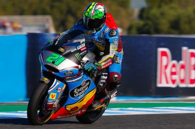 Morbidelli back out front on Sunday