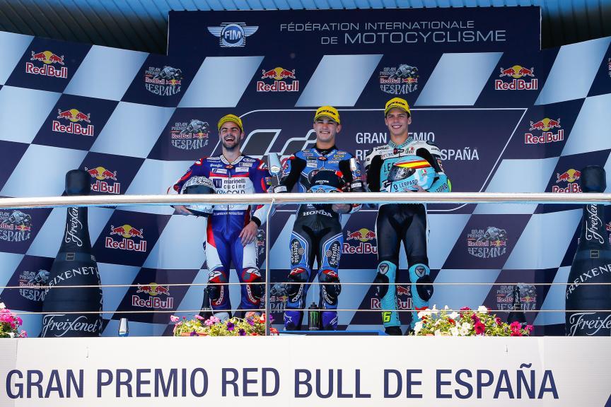 Aron Canet, Romano Fenati, Joan Mir, Gran Premio Red Bull de España
