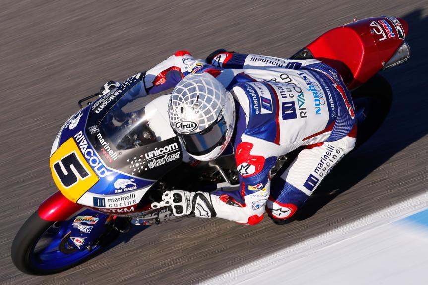 Romano Fenati, Marinelli Rivacold Snipers, Gran Premio Red Bull de España