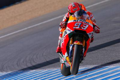 """Marquez' mentality in Jerez: """"Push – but inside the limit!"""""""